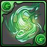 緑の妖火玉の画像