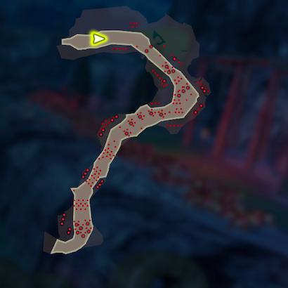 神獣の力のマップ