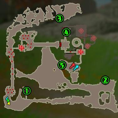 アッカレ砦コログマップ