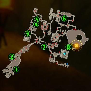 イーガ団のアジトコログマップ