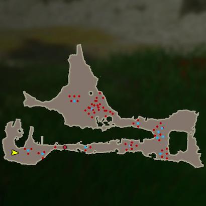 大妖精を探して戦場のマップ
