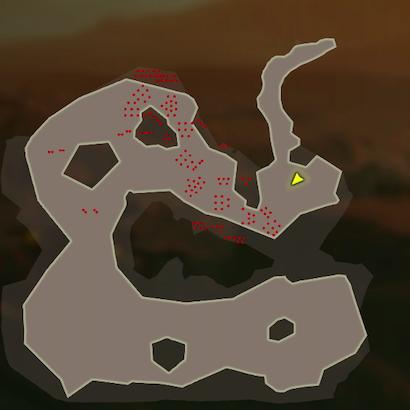 イーガ団追撃のマップ