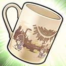 木漏れ日のマグカップの画像