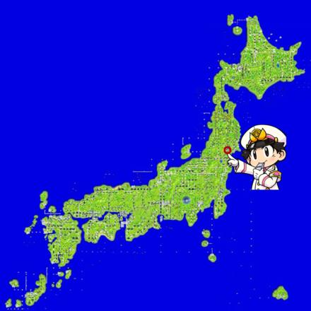 仙台のマップ画像