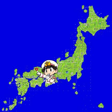 松江のマップ画像