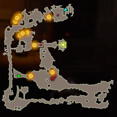 逆襲のガーディアンのマップ