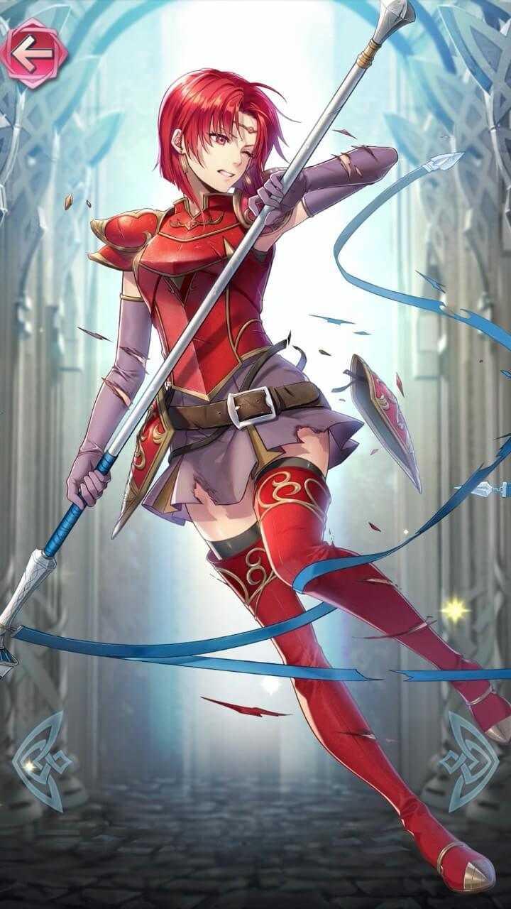 ミレディ(紅蓮の竜騎士)の立ち絵