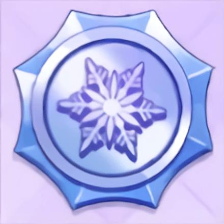 白結晶の六柱