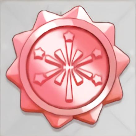 赤結晶の花