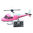 ACNH - The Pink version of RC Helicopter