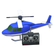ACNH - The Blue version of RC Helicopter