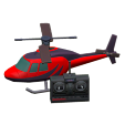 ACNH - The Red version of RC Helicopter