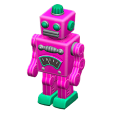 ACNH - The Pink version of Tin Robot
