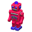 ACNH - The Red version of Tin Robot