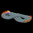 ミニサーキットのピンク&パープルの画像