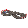 ACNH - The Red & White version of Mini Circuit
