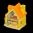 ACNH - The Orange version of Dollhouse