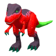 ACNH - The Red version of Dinosaur Toy