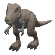 ACNH - The Gray version of Dinosaur Toy