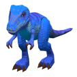 ACNH - The Blue version of Dinosaur Toy