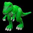 きょうりゅうのおもちゃのグリーンの画像