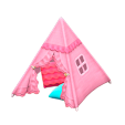 キッズテントのピンクの画像