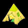 キッズテントのフラワーの画像
