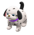 ACNH - The Spotted version of Puppy Plushie