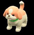 ACNH - The Lemon & White version of Puppy Plushie
