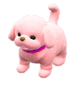 ACNH - The Pink version of Puppy Plushie