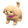 ACNH - The Beige version of Puppy Plushie