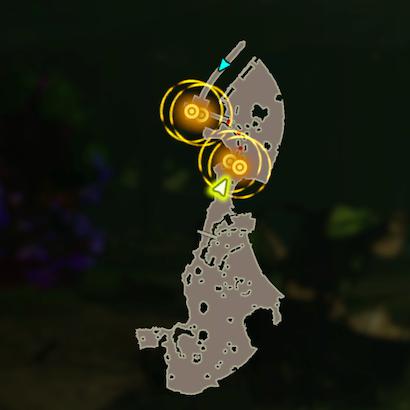 厄災の残したもののマップ