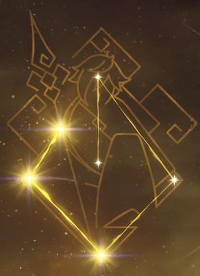 鍾離の星座画像