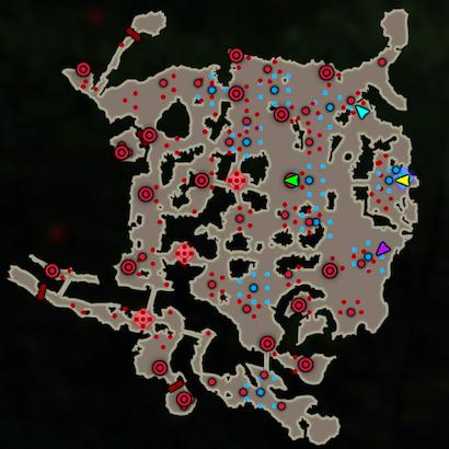 決戦!ハテノ砦のマップ