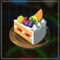 フルーツケーキ画像