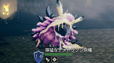 獰猛なナメトリクジ別種(LV65)