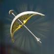 光の弓矢画像