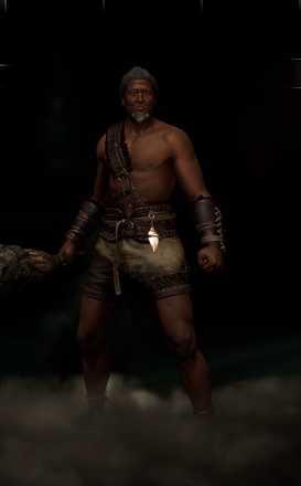 蛮族の男見た目