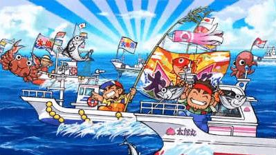 漁船団が大豊漁!の画像