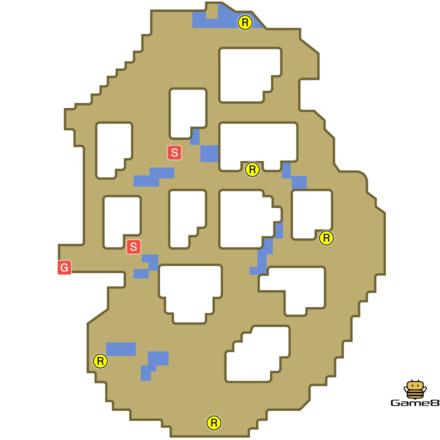 風のささやく洞窟ランダム6