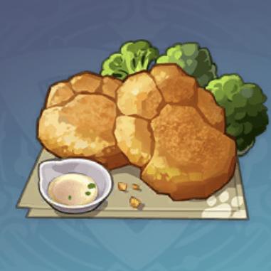 ツメ型ハッシュドポテトの画像