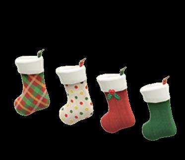 クリスマスなかべかけソックス画像
