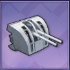102mm連装副砲MarkXVⅠT0画像