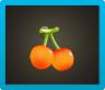 さくらんぼのランプ画像