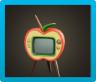 リンゴのテレビ画像