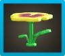 パンジーのテーブル画像