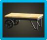 アイアンウッドローテーブル画像