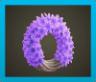 むらさきのヒヤシンスのリース画像