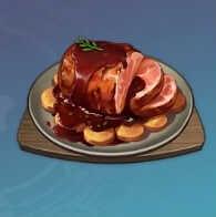 ニンジンとお肉のハニーソテーの画像