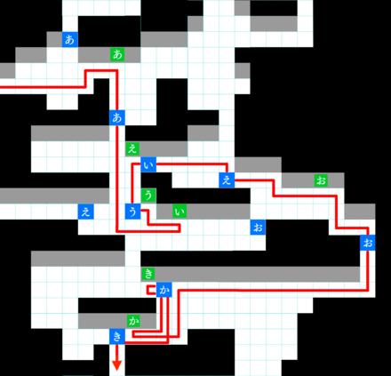 試練の迷宮 スイッチルート